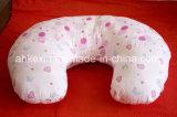 Het ronde het De borst geven Hoofdkussen van de Baby met het Katoen van pp