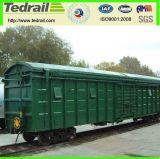 Le train, fret, distributeur, les graines, réservoir, Dessus-S'ouvrent, des pièces de chariot