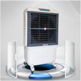 冷水装置、水空気クーラー、携帯用空気クーラー