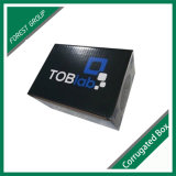 Placa de papel ondulado caixas de embalagem com tampas de inserção de flip