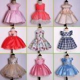 Normale Baumwollnette Form Smocked kleidet Kind-Kleidung für Mädchen