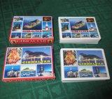 Impression polychrome personnalisée annonçant Playingcards