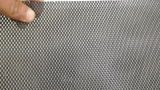 La fábrica de aluminio recubierto de malla de alambre/ negro la pantalla de cristal el enrejado metálico insecto