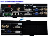 Vdwall Lvp605s HDMI/Composite/USB/DVI/VGA Serie LED-Bildschirmanzeige-Video-Prozessor des Input-DVI/VGA/Output Vdwall Lvp605s