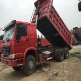 Второй Стороны Sinotruk HOWO 6X4 336 HP 371HP 35t Mining-Used самосвал