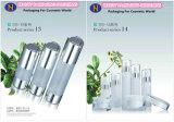 contenitore di plastica delle estetiche delle bottiglie rotonde di 100ml 150ml 200mml per l'estetica