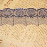工場衣服のアクセサリ及びホーム織物(BS1103)のための標準的な卸売4cmの幅の刺繍のネットのレースポリエステル刺繍のトリミングの空想の網のレース