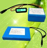 Размера 18650 литий-ионный аккумулятор 12V 20.8ah для солнечного света аккумуляторной батареи