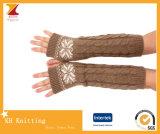 긴 뜨개질을 하는 팔 장갑 도매