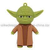 USB Flash Drive Cuty Yoda PVC (UL-PVC022)