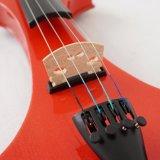 Violon électrique d'instruments de musique avec de la colophane de violon