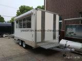 De Yieson Gemaakte Mobiele Bestelwagen van het Voedsel voor Verkoop