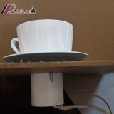 Novas e modernas Branco Cerâmico Teacup Luz de parede para o café