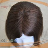Delantera de encaje peluca medica para pacientes de la mujer peluca (PPG-L-01567)