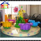 贅沢な遊園地の子供の乗車の回り道のコーヒーカップの振動椅子