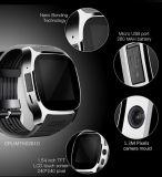 2017 Kamera Bluetooth des Großhandelspreis-T8 SIM intelligente Uhr für IOSAndroid