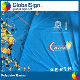 De in het groot Druk Van uitstekende kwaliteit van de Sublimatie van de Banner van de Polyester van het Oogje van de Douane