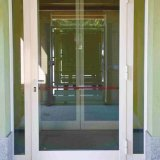 Porte extérieure en aluminium personnalisée