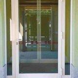 Superior al aire libre personalizada puerta de aluminio