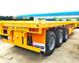 Vietnam popular! de 40feet 3axle do leito reboque Semi