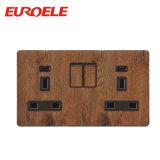 Interruptor de madeira com cuidado projetado da C.A. da cor 45A do PC