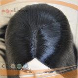 Shevy Arbeits-weiße Haut-Oberseite Silk jüdische Sheitel Perücke (PPG-l-01129)