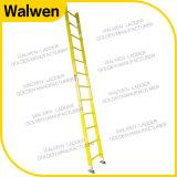 De enige Ladder van de Stap van de Glasvezel van de Isolatie van de Ladder Rechte