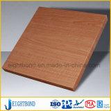 Comitato di alluminio del favo del grano di legno per mobilia