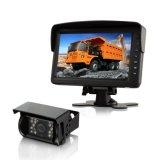 7 pouces de l'écran de rétroviseur pour Van Fleet Solution de vision d'exploitation minière d'équipement lourd IP69k Caméra de recul