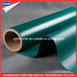 Ткань брезента PVC водоустойчивого зеленого цвета энергетической промышленности Coated
