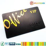 Smart card clássico personalizado do PVC MIFARE 1K RFID da impressão do logotipo