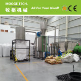 1000kg/hora de esmagamento de garrafa PET planta de lavagem a quente