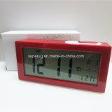 Нестандартная конструкция франтовского будильника цифров LCD света ночи