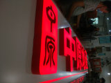 LED Epoxy Resin Blister Red Channel Letters