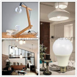 La luz E27 12W del maíz del LED calienta la lámpara de plata blanca del bulbo de la carrocería LED del color