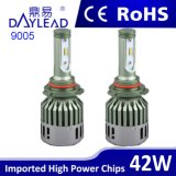 faro di alluminio del materiale LED di 48W 4800lm con il chip di Philips