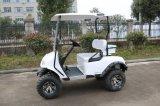 4つの車輪駆動機構の電気ゴルフカート