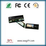 Pubblicità di video opuscolo su ordinazione della cartolina d'auguri del giocatore video