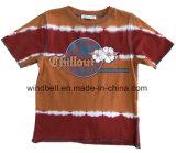 T-shirt en coton jersey simple pour garçon avec teinture cravate