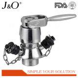 Válvula asséptica sanitária da amostragem do aço inoxidável