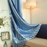 Gutes Handgefühls-Polyester-fester Jacquardwebstuhl-Stromausfall-Fenster-Vorhang (22W0024)