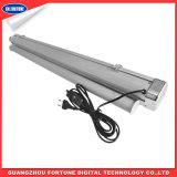 Atendimento de tipo elétrico de exibição de alumínio Roll up Stand