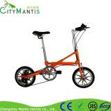 Bicicleta de dobramento de pouco peso Yzbs-7-14 do projeto da X-Forma