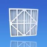 Pré-filtro de pregas de papelão para máquinas rotativas