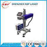 Faser-Laser-Markierungs-Maschine des Fliegen-10W für Plastikpreis