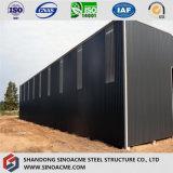 Almacén de almacenaje prefabricado de la estructura de acero de China del precio bajo