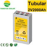 Puissance du Yangtze 2V 2000ah Opzv batterie tubulaire