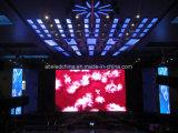 Videodarstellung-Funktion P3.91 Innen-LED-Bildschirmanzeige-Miete-Verbrauch