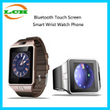Bluetooth pantalla táctil reloj de pulsera inteligente con cámara para Apple iPhone & Android