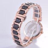 Horloge van de Dames van de luxe het Elegante Opgenomen met Diamant